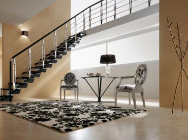 Le scale autoportanti, una strategia salva-spazio elegante e contemporanea per la casa