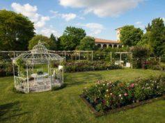 Riaprono i giardini di Castello Quistini