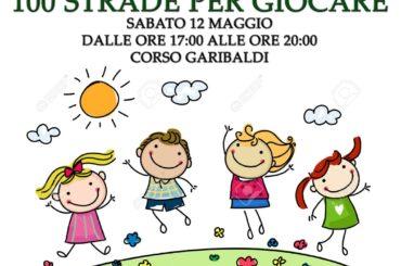 """SAN SEVERO: Il 12 MAGGIO QUARTIERE IN MOVIMENTO ORGANIZZA """"100 STRADE PER GIOCARE"""" IN PIAZZA ALLEGATO"""