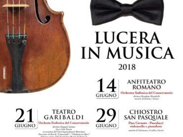 """""""Lucera in Musica"""" ritorna nell'Anfiteatro Romano. Per il FAI è una vittoria"""