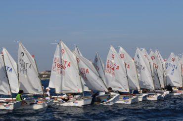 Dal 6 all'8 luglio a Manfredonia la IV Tappa del Trofeo Optimist Italia Kinder
