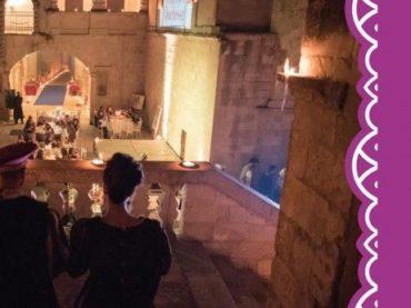 A CENA CON LA DUCHESSA 2018 Castello di Corigliano d'Otranto  Il gusto fa epoca