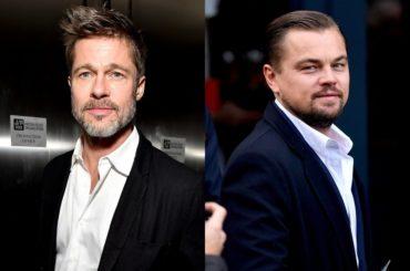 Leonardo Di Caprio e Brad Pitt al cinema