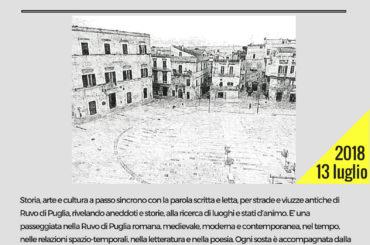 Ruvo di Puglia Attraversamenti. Leggere la Città. La Passeggiata letteraria