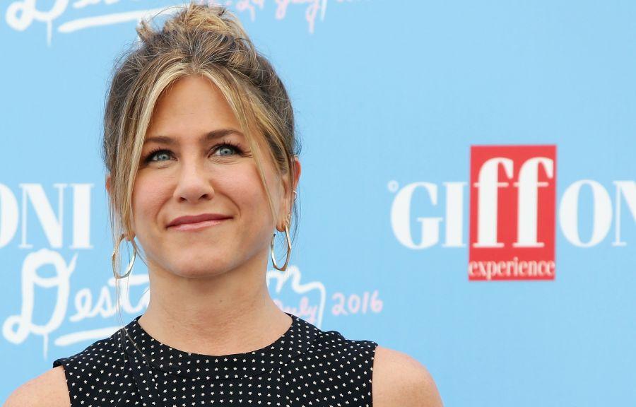 Jennifer Aniston gira un film in Italia