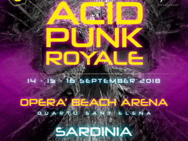 Cagliari: arriva Acid Punk Royale 2018