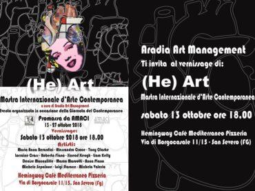 """""""(He)Art"""", la Collettiva d'arte contemporanea di Aradia Art  Management"""