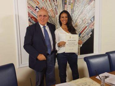 """Giusy Versace """"Ambasciatore per la Calabria 2018"""""""