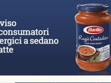 Barilla ritira dai supermercati Ragù Contadino per errore di etichettatura