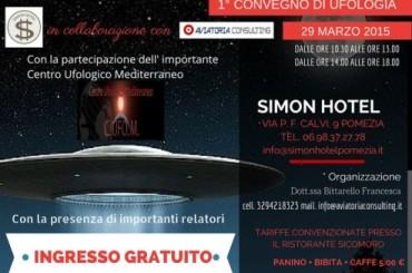 Pomezia sede di un importante evento con gli Ufo Domenica 29 Marzo 2015