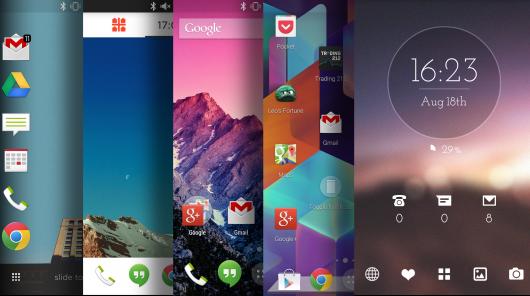 Personalizziamo Android con i Launcher