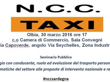 Olbia: Confartigianato Sardegna parla di abusivismo e NCC/Taxi