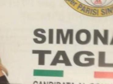 Simona Tagli è candidata
