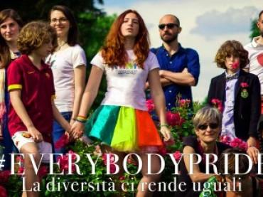 25 Giugno Everybodypride il flash mob ideato da Angelo Cruciani