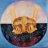 """Il pittore Guadagnuolo ricorda la sua opera """"Il Debito Estero"""" esposta alle Nazioni Unite"""