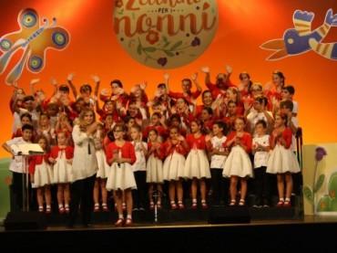 Il Piccolo Coro in TV per la Festa dei Nonni