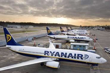 Ryanair investe 1miliardo di dollari in Italia