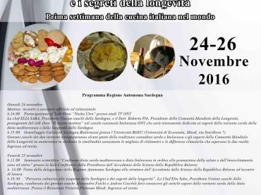 La cucina tradizionale della Sardegna e i segreti della longevità protagonisti in Bielorussia