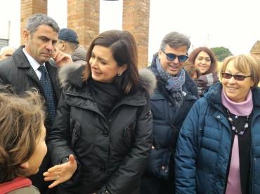 """Foggia. """"Mediterre.bio è una visione del mondo che va sostenuta"""" Il riconoscimento della Presidente della Camera Laura Boldrini"""