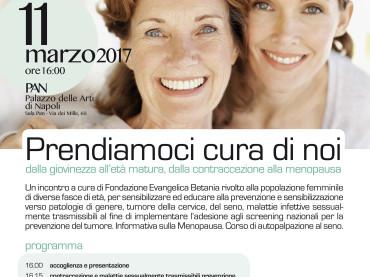 PRENDIAMOCI CURA DI NOI AL PAN UN WORKSHOP SULLE PATOLOGIE FEMMINILI