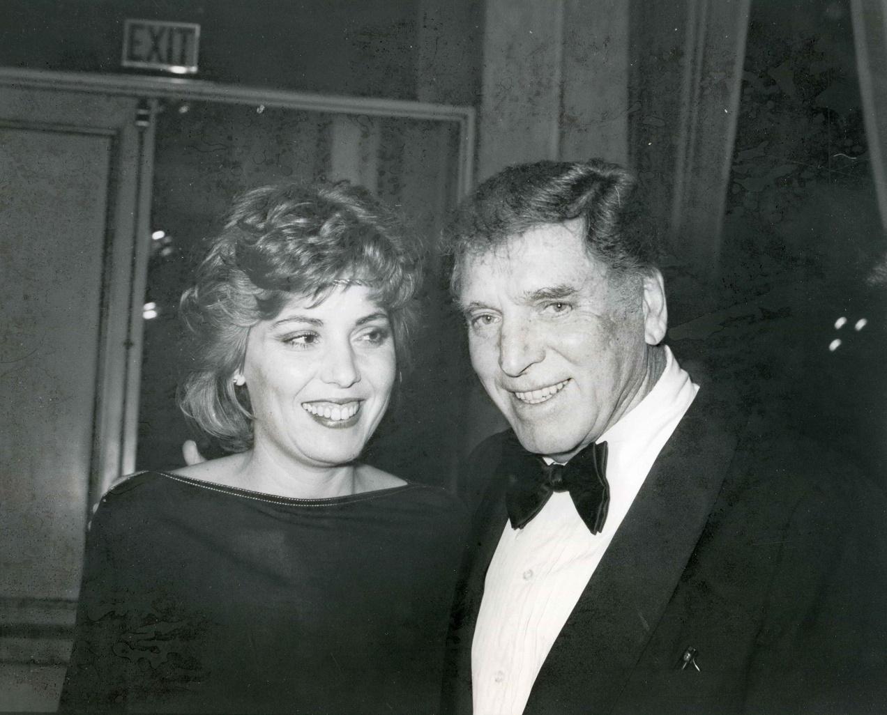 Joanna Lancaster con il padre Burt (1)
