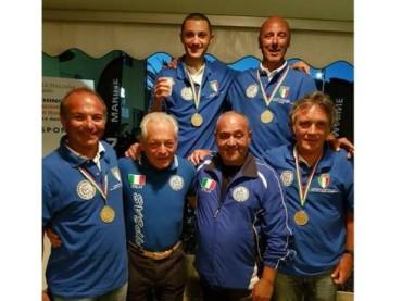 ANDORESI CAMPIONI ITALIANI DI TRAINA COSTIERA