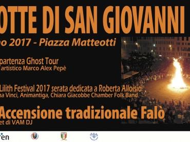 Centro Antico di Genova Falò di San Giovanni e Ghost Tour 2017