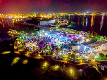 """Isola Beach Club Porto Cesareo  Sabato 22 luglio """"Saturday Night Fever!"""""""
