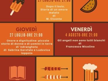 """Pizzo Primo appuntamento della rassegna """"Tarallucci & Vino"""""""