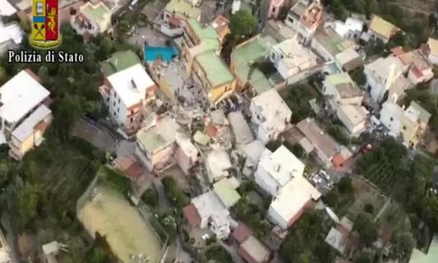 [Terremoto a Casamicciola - foto Polizia di Stato]