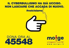 """cyberbullismo che uccide ancora, parte la campagna del MOIGE """"#NOI CI SIAMO"""""""
