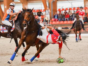 FIERACAVALLI FA CANESTRO CON L'HORSEBALL
