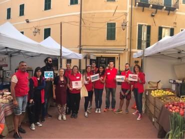 Gli animatori turistici in missione a Gavenola per promuovere le eccellenze della Valle Arroscia
