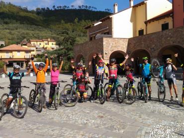 """Garlenda progetto """"da Sestriere ad Alassio in bicicletta"""""""
