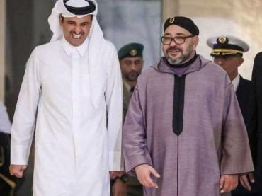 Re Mohammed VI del Marocco è arrivato in Qatar e incontra Tamim