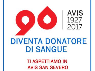 AVIS SAN SEVERO: DOMENICA 26 NOVEMBRE DONAZIONE SANGUE