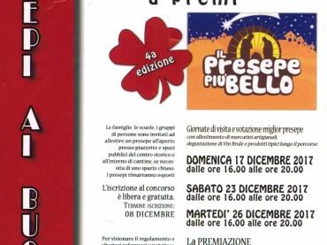 Gara di presepi a premi nel borgo di Baschi, iscrizioni entro il 08 dicembre