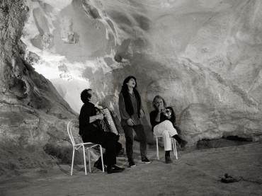 Immagini inedite di Vinicio Caposella alle Grotte di Ispinigoli e al Cala Gonone Jazz Festival