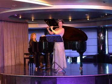 Il Duo Francesca Salvemini, flauto – Silvana Libardo,  pianoforte inaugura la stagione concertistica a Palazzo Amaduri  a Gioiosa Jonica