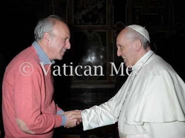 """La Fondazione antiusura """"Buon Samaritano"""" di Foggia in udienza da Papa Francesco [VIDEO]"""