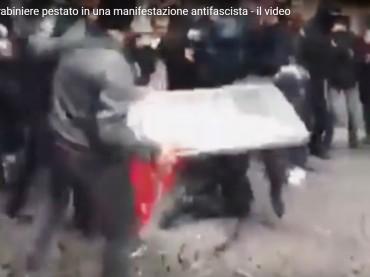 Piacenza, ennesima giornata della vergogna. Carabiniere ferito e FF.OO. aggredite [VIDEO]