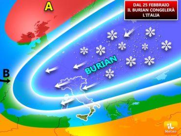 """""""Burian"""" è imminente. Allerta neve in Capitanata. Il Prefetto Mariani interdice il traffico nella provincia"""
