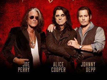 ROMA SUMMER FEST: ARRIVANO GLI HOLLYWOOD VAMPIRES  IL SUPER GRUPPO di ALICE COOPER, JOHNNY DEPP e JOE PERRY