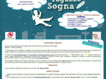 """""""Sogna, ragazzo sogna"""", a Foggia parte la IV edizione"""