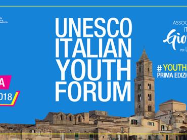 A Matera il primo UNESCO ITALIAN YOUTH FORUM