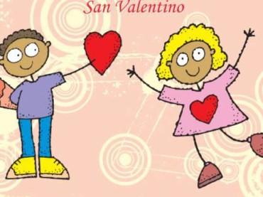 SAVONA: CARTOLINA FILATELICA SPECIALE CON UN MESSAGGIO D'AMORE PER SAN VALENTINO