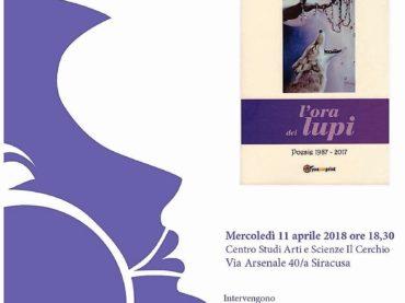 """""""L'ora dei lupi"""", al Cerchio si presenta l'antologia poetica di Luca Campi"""