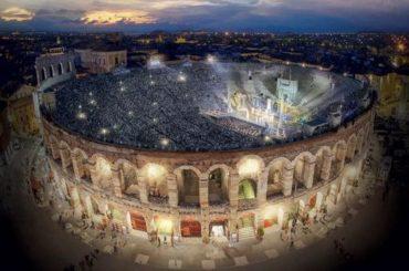 Adriano Celentano protagonista di uno show da Verona