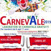 CARNEVALE AL MAT 2019. Festa, tradizione, altre culture