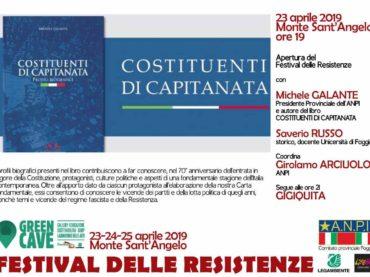A Monte Sant'Angelo nella Green Cave la tre giorni del Festival delle Resistenze